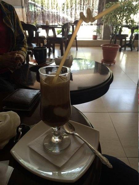 کافه مشهور در مشهد