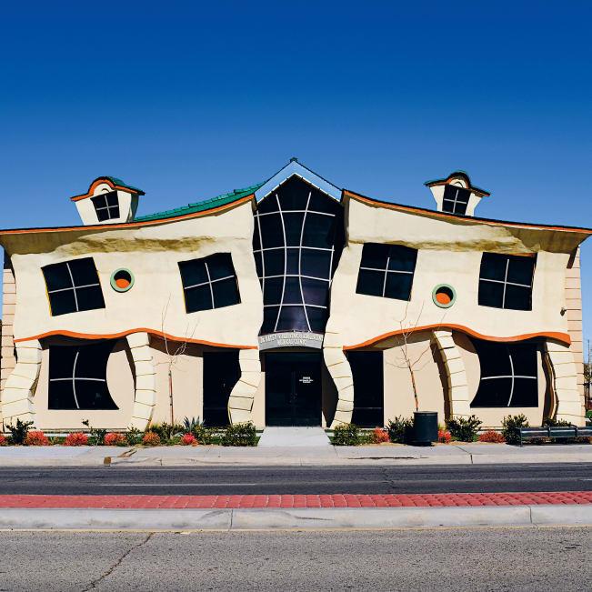 عجیب ترین ساختمان های کالیفرنیا