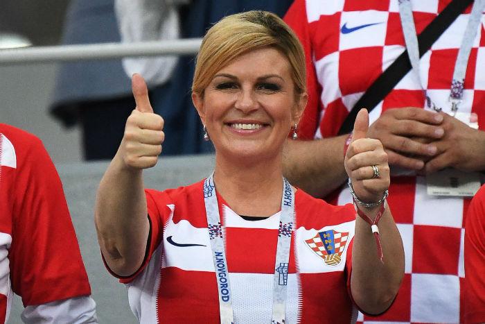 کولیندا گرابار کیتاروویچ ؛ رییس جمهور، زبانشناس و فوتبالدوست کرواتی که محبوب جهانیان شد