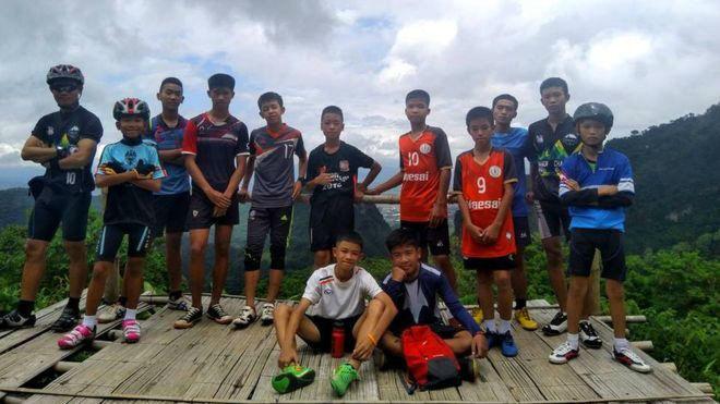 نوجوانان تایلندی گرفتار در غار