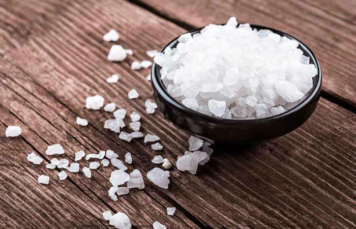 فواید نمک برای پوست و مو
