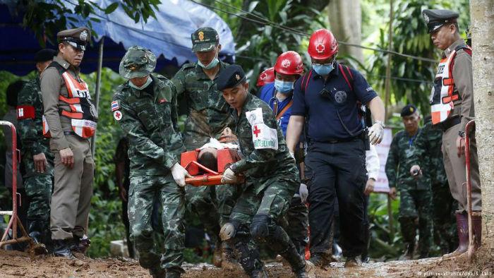 عملیات نجات نوجوانان تایلندی