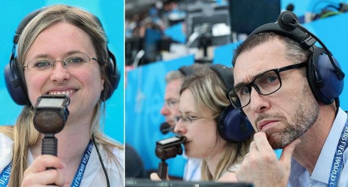 زنان گزارشگر