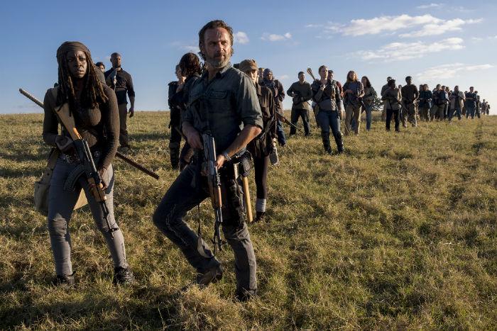 تریلر جدید سریال «مردگان متحرک» در مراسم کامیک کان و خداحافظی رسمی اندرو لینکلن