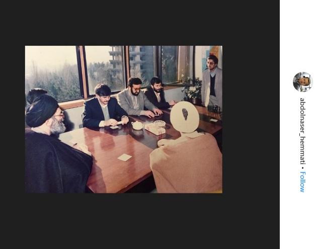اینستاگرانم عبدالناصر همتی1 رییس کل بانک مرکزی ایران 2 روزیاتو: نگاهی به اینستاگرام رییس کل بانک مرکزی: عبدالناصر همتی اخبار IT