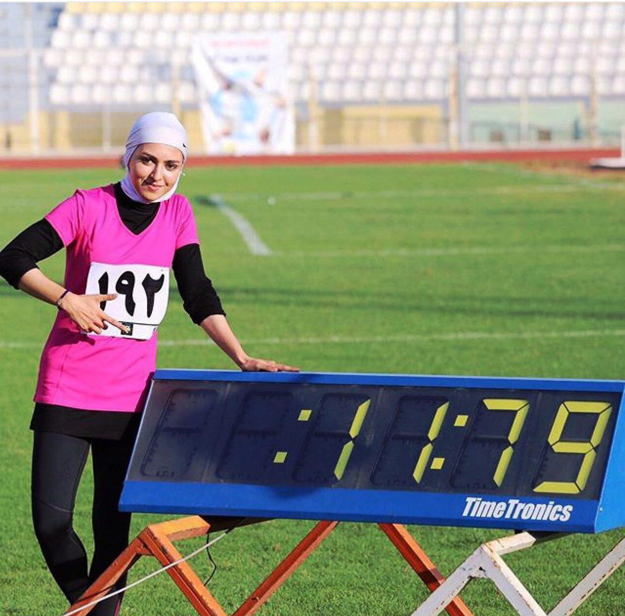 سریعترین دختر ایران از اعزام به بازیهای آسیایی جاکارتا حذف شد