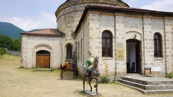 شهر شکی در کشور آذربایجان