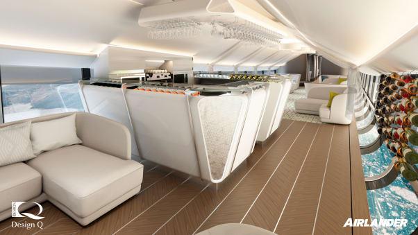 نگاهی به داخل بزرگترین هواپیمای جهان؛ Airlander 10