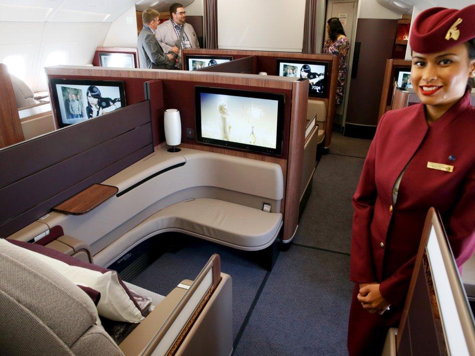 نگاهی به پروازهای فرستکلاس 10 هواپیمایی مختلف جهان : لاکچریگردی در دل آسمان