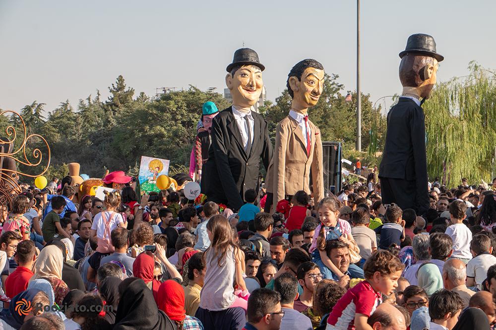 گزارش روزیاتو از افتتاحیه هفدهمین جشنواره بین المللی تئاتر عروسکی تهران : مبارک