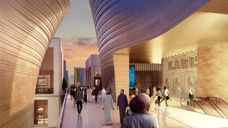مرکز خرید بزرگ دوبی