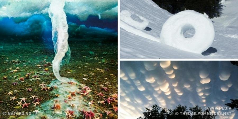 وقتی طبیعت شعبده بازی می کند؛ نگاهی به حیرت انگیزترین پدیده های طبیعی دنیا