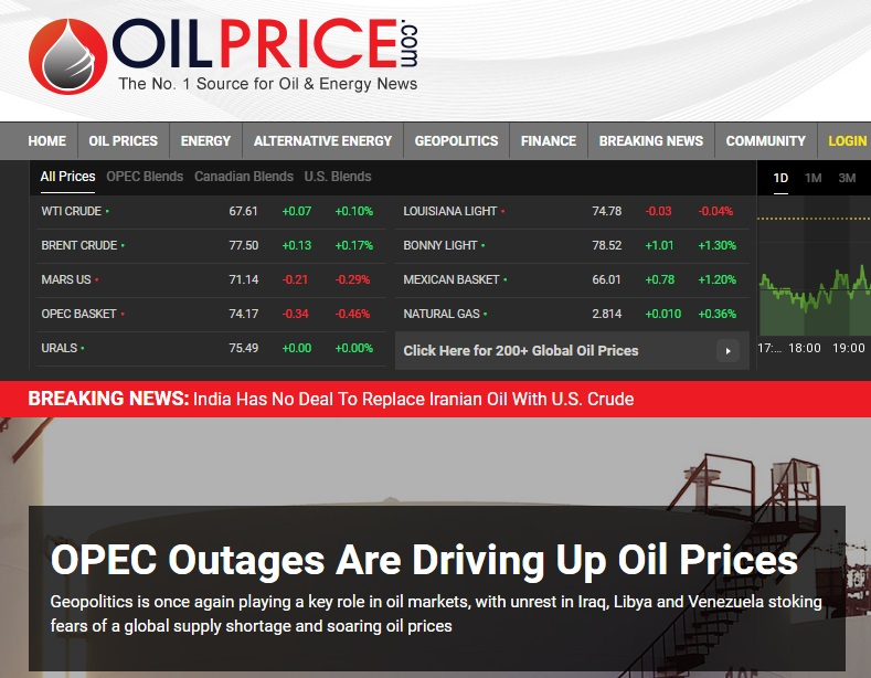 آینده بازار نفت
