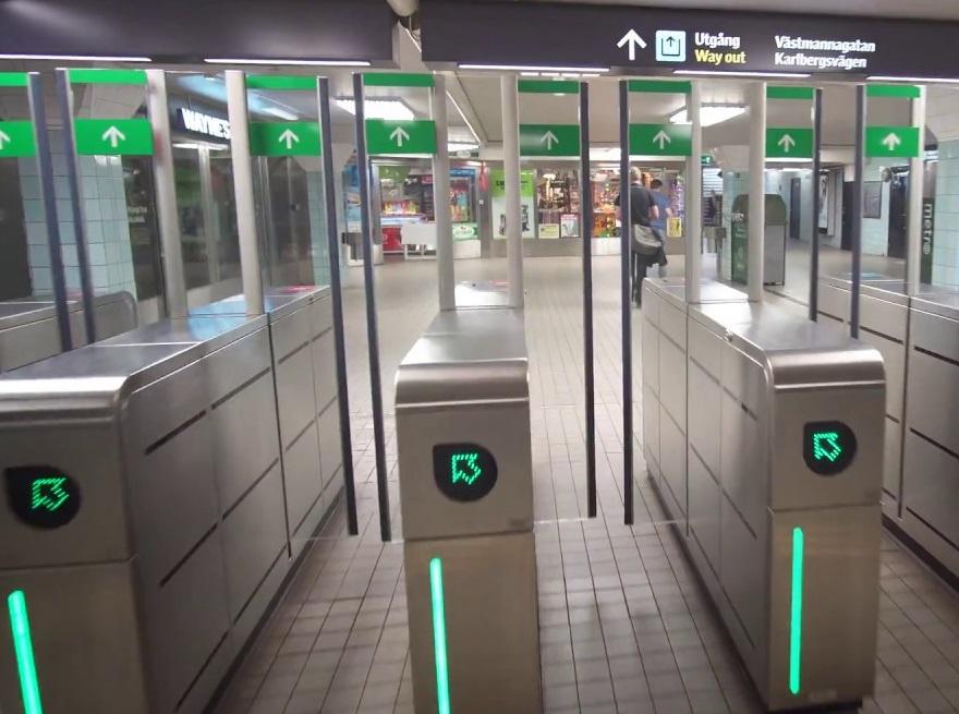 گشتی در ایستگاههای متروی استکهلم