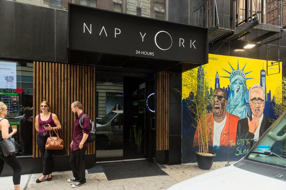 کپسول های خواب در شهر نیویورک