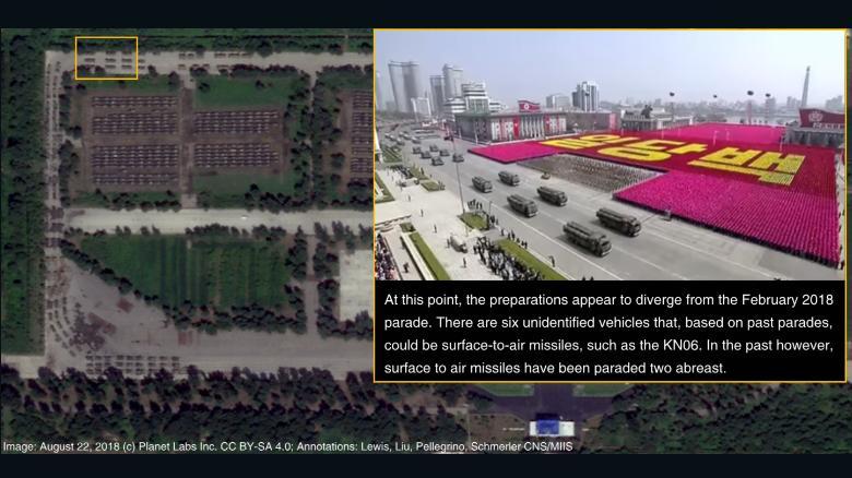 رژه نظامی کره شمالی