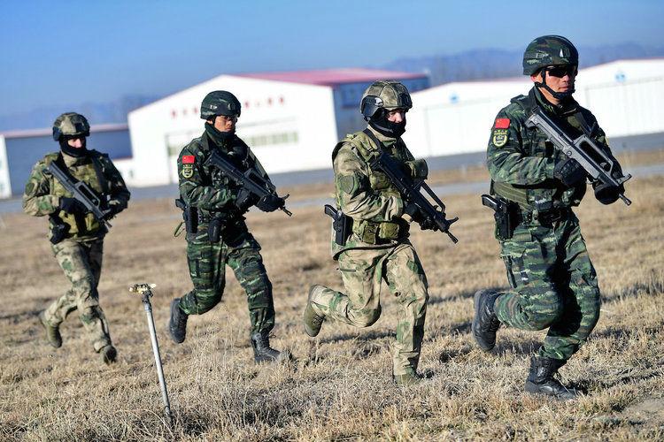 مانور نظامی بزرگ روسیه
