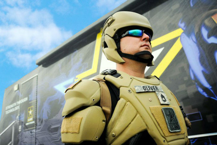 اسکلت های پوشیدنی نظامی