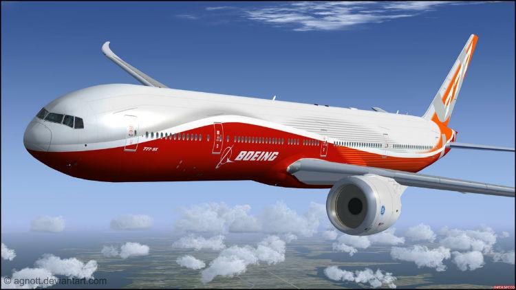 بوئینگ ۷۷۷X-9: بزرگ ترین هواپیمای مسافربری دو موتوره جهان