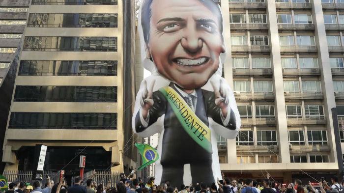 ژایر بولسونارو رییس جمهور جدید برزیل