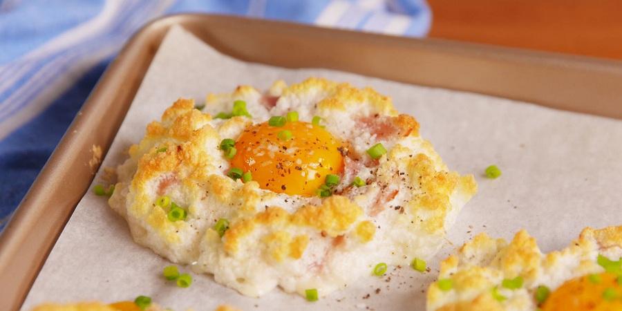 تخم مرغ برای صبحانه