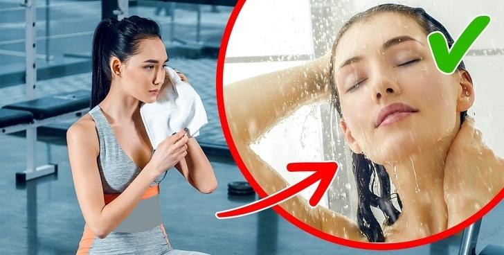اشتباهات حمام کردن