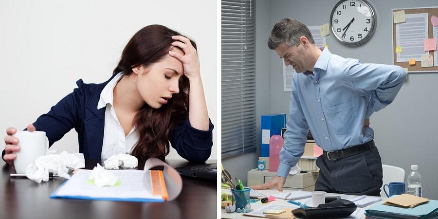 اضطراب بر کدام قسمت های بدن و به چه شکل تأثیر می گذارد؟