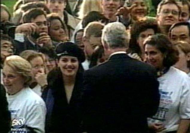 رابطه جنسی بیل کلینتون و مونیکا لوینسکی
