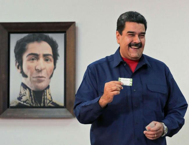 دیکتاتوری نیکلاس مادورو در ونزوئلا