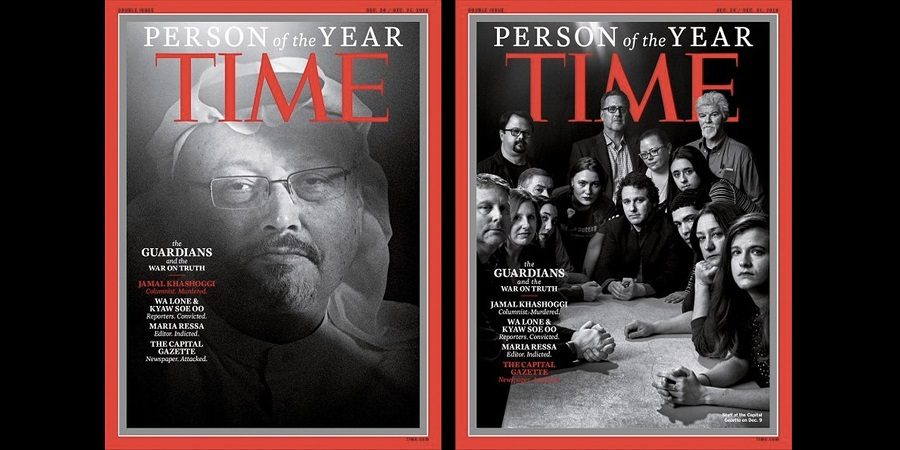 شخصیت سال مجله تایم 2018