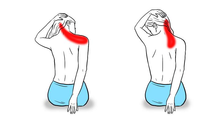 از بین بردن درد شانه و گردن
