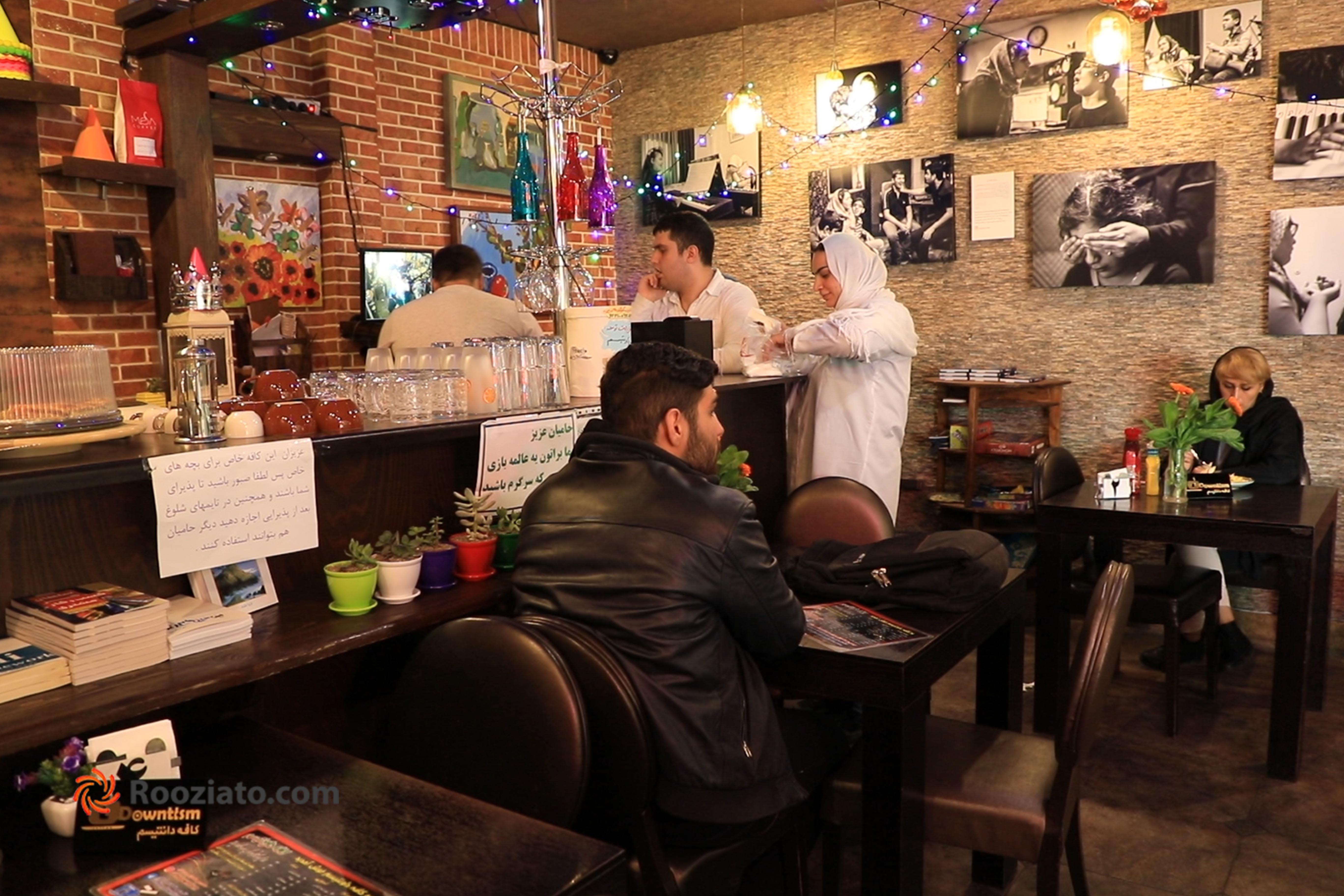 گزارش ویدئویی روزیاتو از کافه دانتیسم