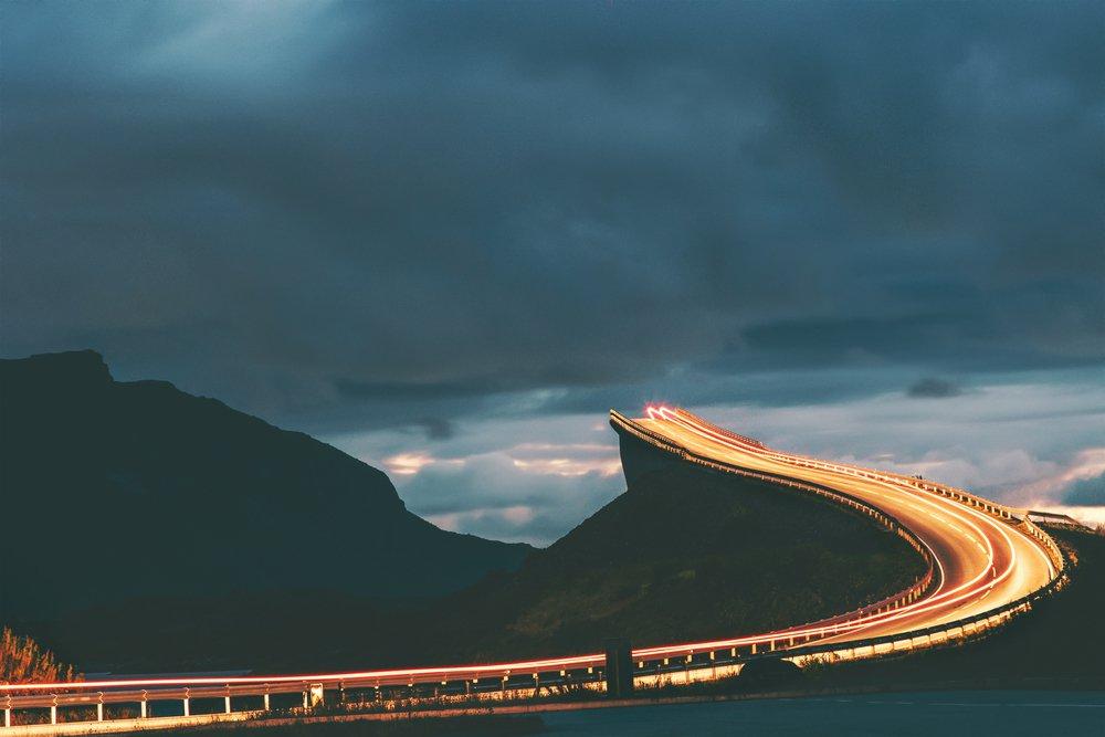 جاده های زیبای جهان / روزیاتو