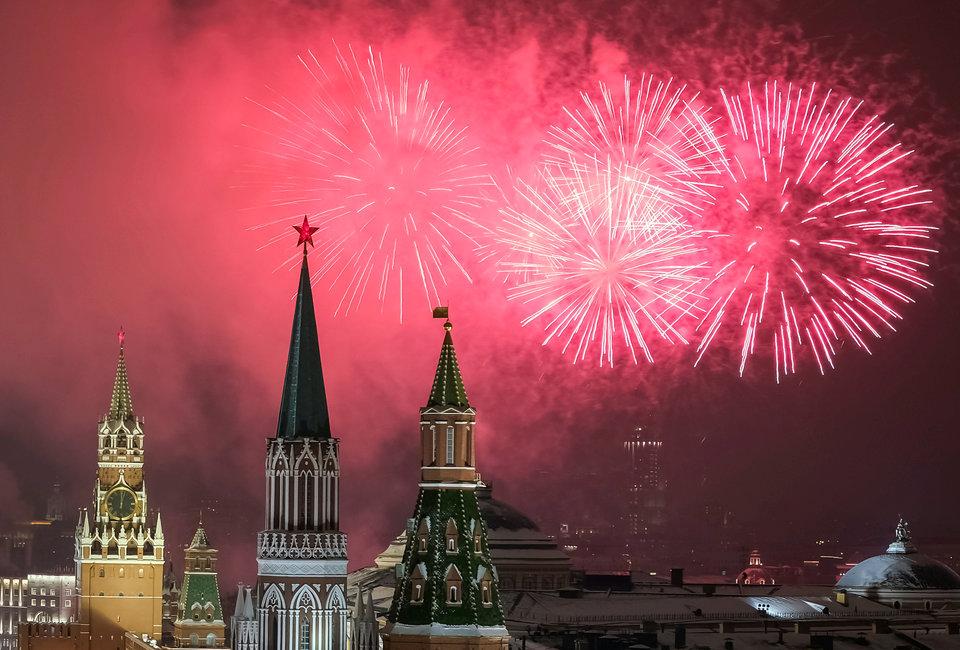 نگاهی به تصاویر جشن سال نوی میلادی در گوشه و کنار جهان؛ ۲۰۱۹