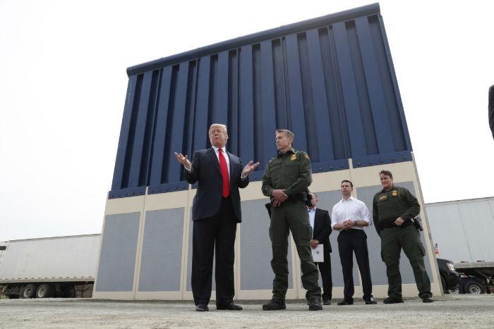 دیوار مرزی مکزیک