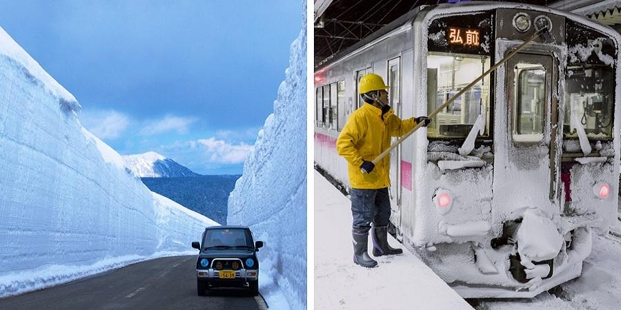 گشتی در «آئوموری»؛ زندگی در برفی ترین شهر دنیا چه حال و هوایی دارد؟