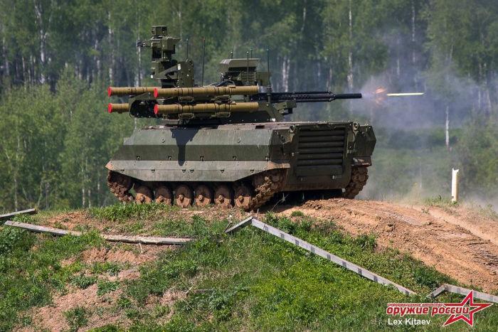 تانک رباتیک روسی