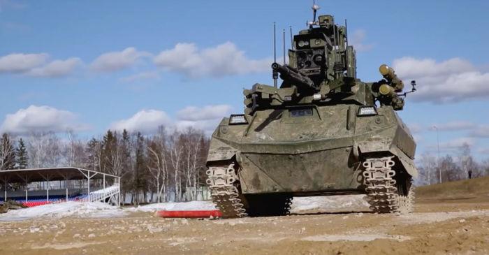 Uran-9؛ تانک رباتیک جدید روسیه با عملکردی فاجعه بار در میدان نبرد سوریه