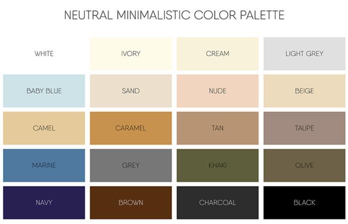 چه رنگی را با چه رنگی ست کنیم