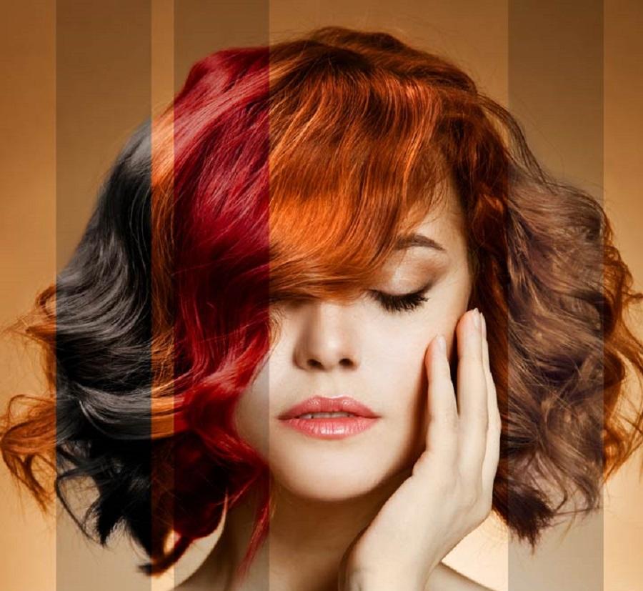 انتخاب بهترین رنگ مو بر اساس رنگ پوست و رنگ چشم