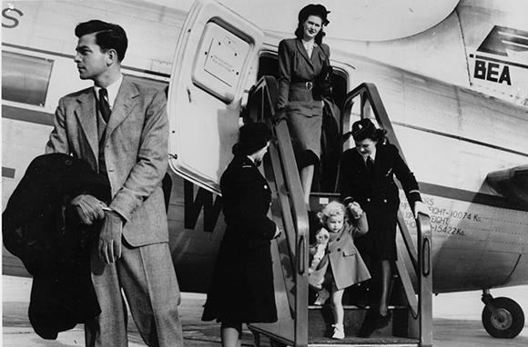 دوران طلایی سفرهای هوایی