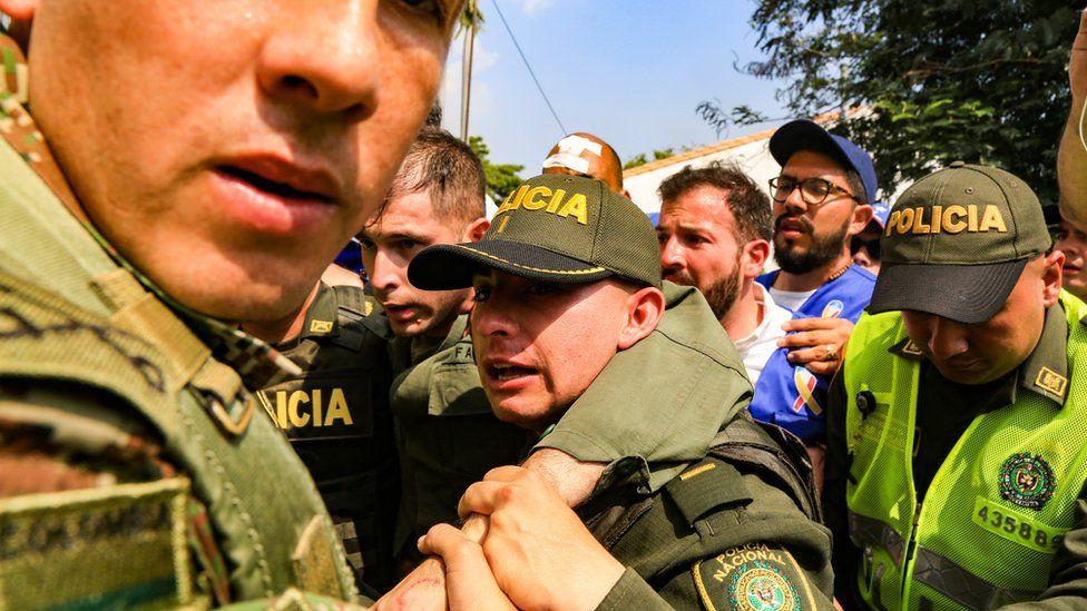 خشونت در مرز ونزوئلا و کلمبیا