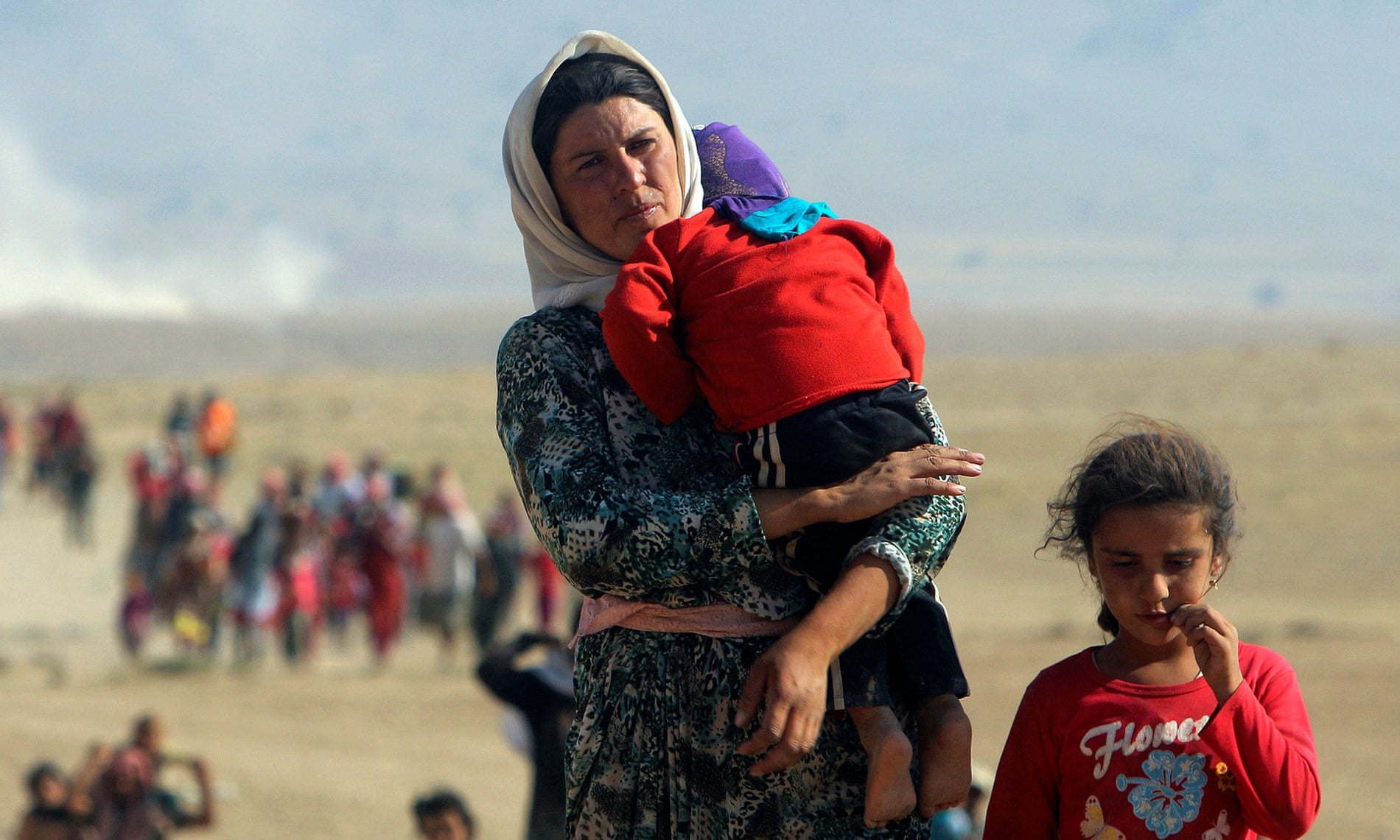زنان و دختران ایزدی ربوده شده توسط داعش