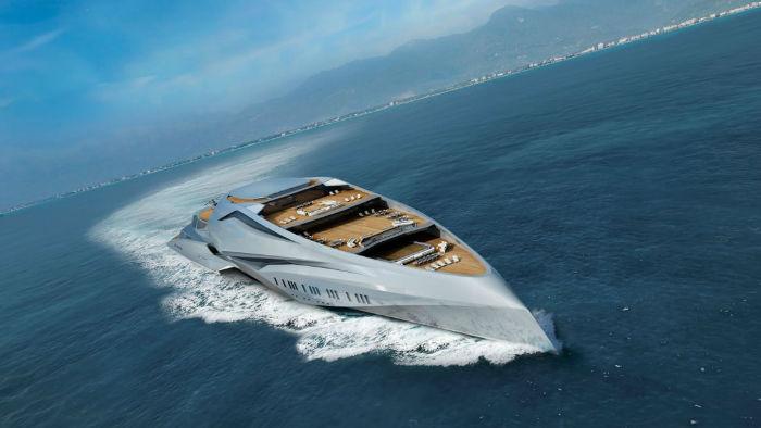 «والکایری»؛ مرکز تفریحی شناور و بزرگ ترین قایق تفریحی جهان آینده