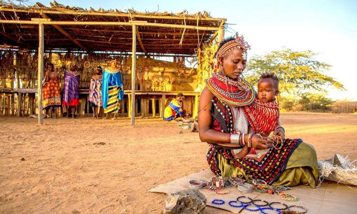 در «اوموجا» جایی برای مردها نیست؛ روستایی کوچک در کنیا که تمام ساکنان آن زن هستند