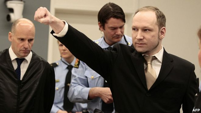 آندرس بریویک :عامل کشتار نروژ