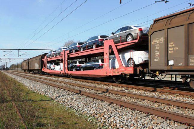 قیمت حمل خودرو با قطار