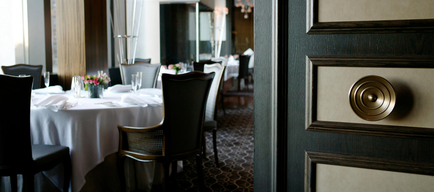 «توماس کلر» مالک و مدیر رستوران پر سِه در شهر نیویورک