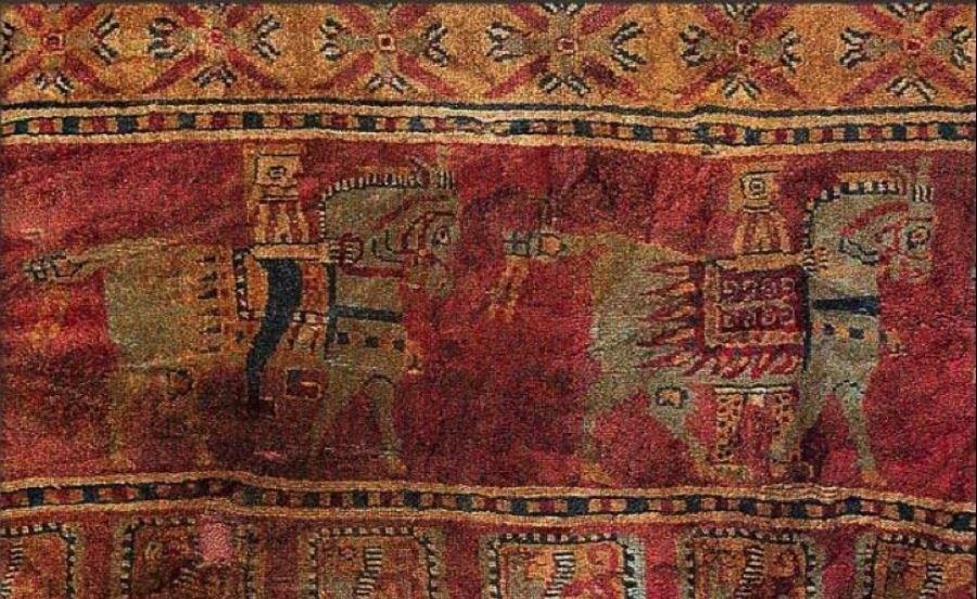 کهن ترین فرش جهان در موزه آرمیتاژ روسیه
