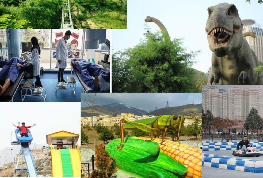 مکان های تفریحی تهران ؛ از دکترلند تا کایاک سواری